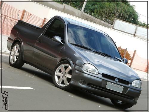 Ensaio pick-up Corsa