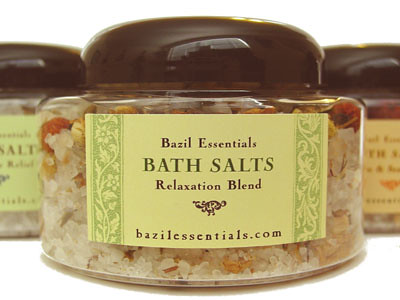 Relaxation Bath Salts, Aromatherapy