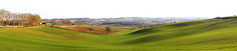 puyssegur champs printemps pano (Laurent Jgou) Tags: france green champs fields campagne collines bl perfectpanoramas crales