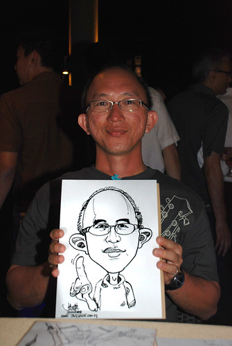 Caricature live sketching Hypercoat Enterprises Pte Ltd 4