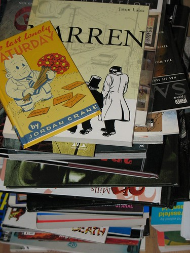 Pile of Comics