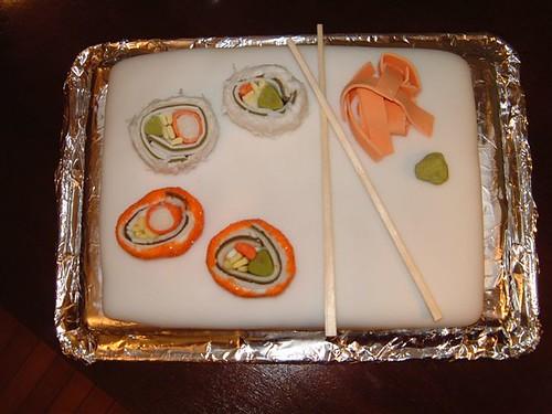 Sushi cake 4