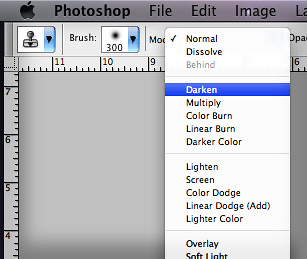 Photoshop Darken Clone