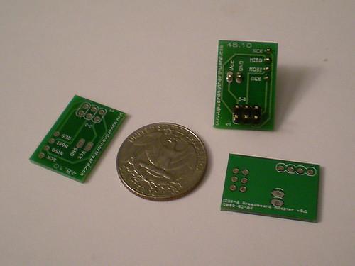 AVR ICSP breadboard adapters