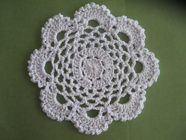 CROCHET DISHCLOTH FREE PATTERN ROUND Patterns
