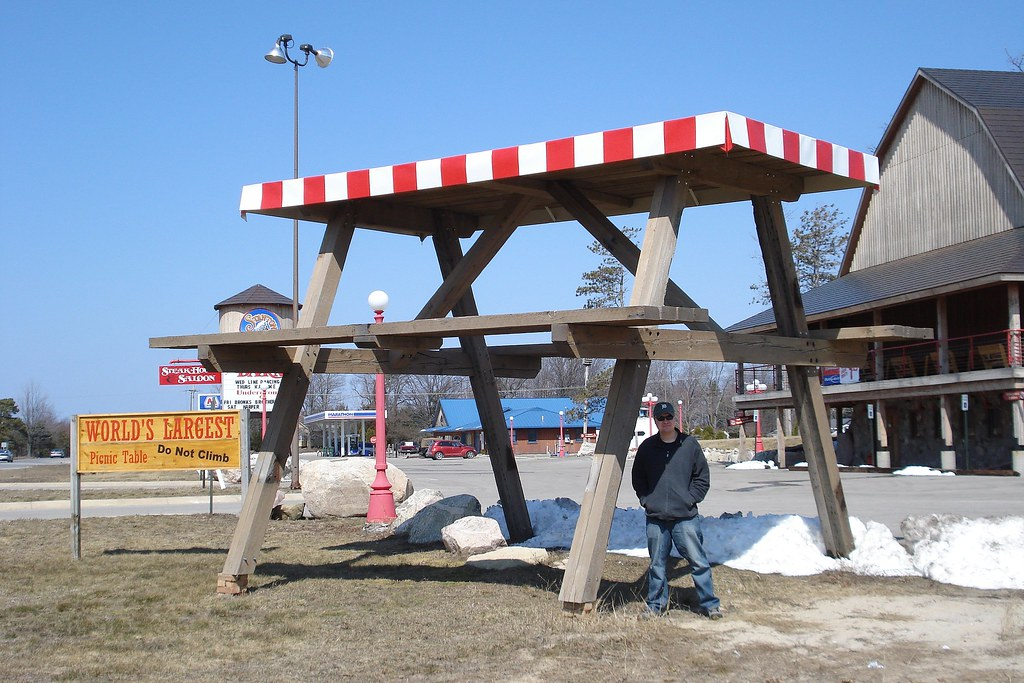The Worlds Best Photos Of Michigan And Weirdmichigan Flickr Hive Mind - Picnic table michigan