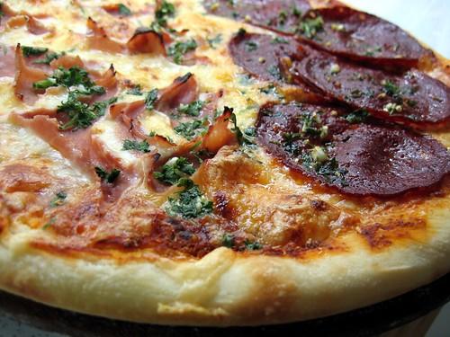 Cantimpalo & Ham Pizza 2