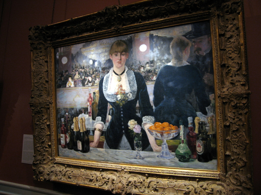 Courtauld Gallery - Edouard Manet - A Bar at the Folies-Bergere (1881-1882)