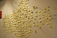 Post(ibet) (mac_teo) Tags: china art florence words modernart postit tibet freetibet