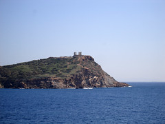 Approaching Sounion by Ava Babili