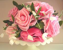 Vintage Pink Rose Hat (andrea singarella) Tags: pink roses floral hat vintage millinery