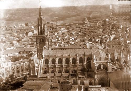 Catedral de Toledo, vista aerea