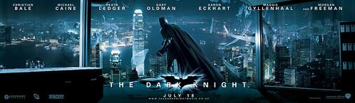 dark knight poster banner