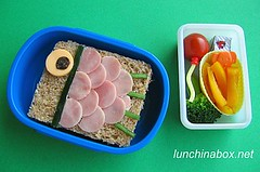 Children's Day bento lunch for preschooler