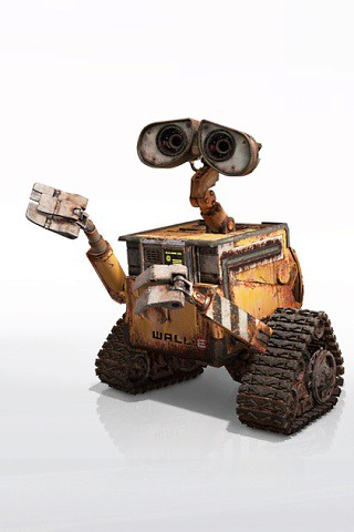 wallpapers wall e. Wall-E iPhone Wallpaper