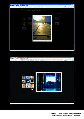 Creación de Galerías Web V | Simpleviewer y Lightbox JS desde Photoshop ceslava 0