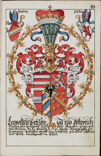 Wappenbuch des Hans Ulrich Fisch l
