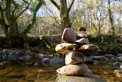 Well balanced (vintage vix - Everything is a miracle) Tags: balance rivercalder caldervale