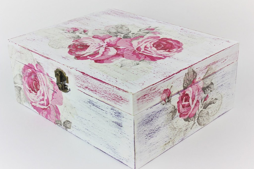 The world 39 s best photos of decoupage and wood flickr for Wooden box tutorial