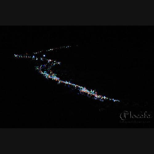 Transvulcania 2011: Rastro de luces