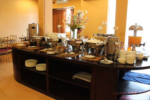 Buffet Table in Microtel Davao