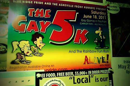 The Gay 5K hits streets of Asheville on June 18