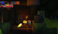 Cave Story 3D - Grass Level