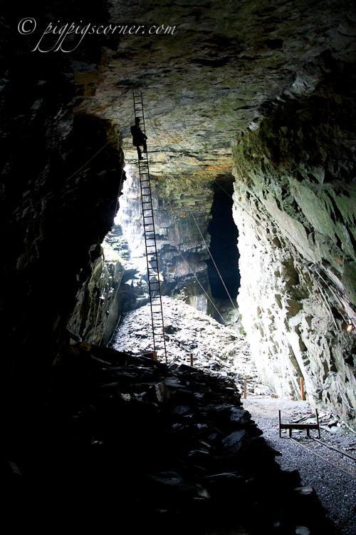 Llechwedd Slate Caverns, North wales