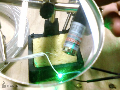 Welding with lasers!