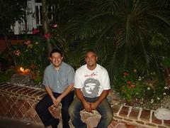 Con Ambiorix, el esposo de Reyna