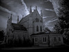 gothic chapel in Crown Hill Cemetery (~ Dave McCaskill ~) Tags: ir indianapolis gothic indiana chapel spooky infrared piratetreasure crownhillcemetery piratetreasure2 thegistofit piratetreasure3 inspooky indyflickr101307