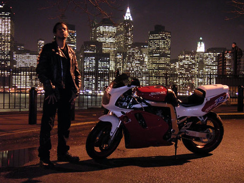 Bill Cammack GSX-R NYC Night