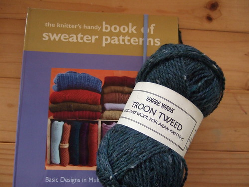new book and yarn