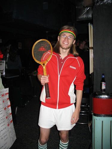 Josh as Bjorn Borg
