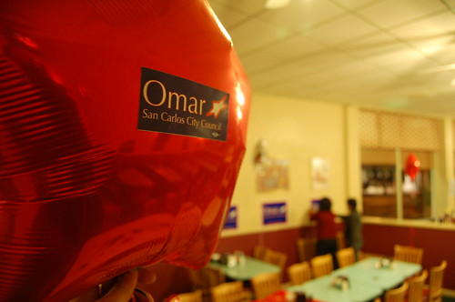 Omar's Campaign Party Setup
