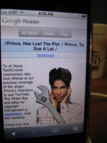 New Google Reader iPhone