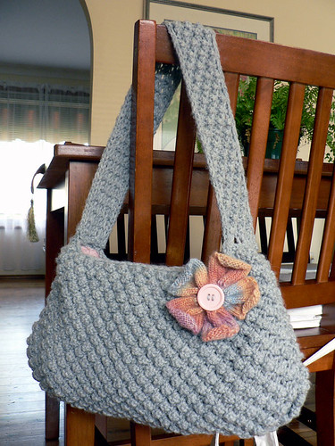Berry Stitch Knitting Bag