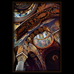 Church of St George (Katarina 2353) Tags: art film church beautiful saint architecture photography george nikon europe flickr image artistic mosaic interior serbia religion mausoleum dome sacred christianity orthodox archangel sv artefact crkva srbija ortodox sacredgeometry oplenac pravoslavlje  umadija  dynastykaradordevic dynastykaradjordjevic karaorevi katarinastefanovic katarina2353 ora