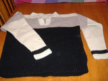 Original Sport Sweater on Table