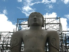 Mahavira Statue at Shravanabelagola (marilynzparadize) Tags: old statue large huge jain bahubali jains jainism shravanabelagola gomateshwara mahavira monolithiic