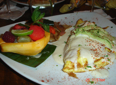 Omelette de Mariscos