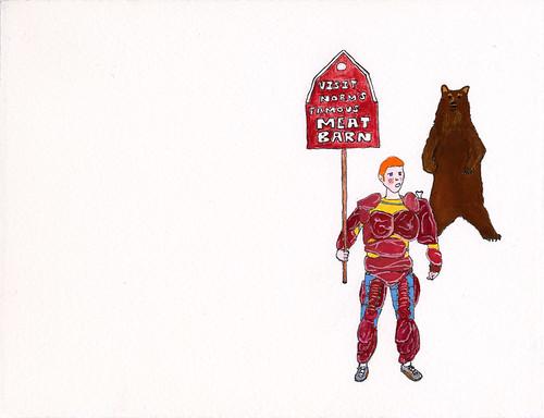 Meat Suit (Visit Norm's Famous Meat Barn)