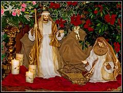 Waiting.... Esperando.... (fancalo) Tags: christmas navidad nogales iglesia estepona nacimiento parroquia pessebre adviento