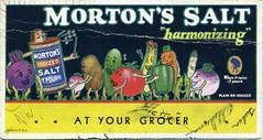 Morton's Salt Blotter