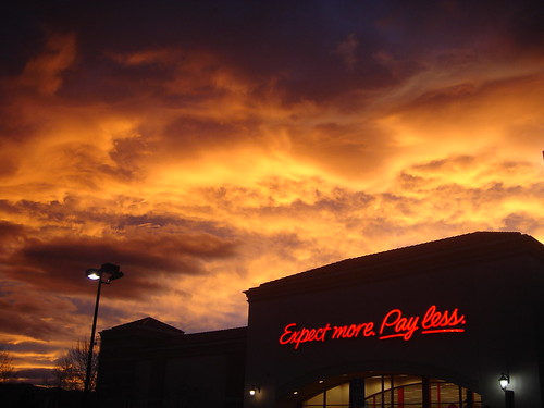 Sunset Over Target