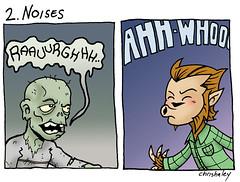 Werewolf vs Zombie : 2. Noises