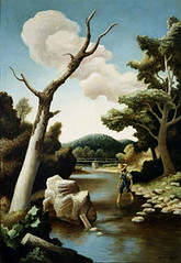 Image of Thomas Hart Benton painting