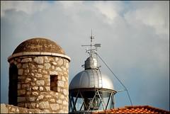 FARO Y TORRE DE VIGILANCIA - PESCOLA (CASTELLN-SPAIN) (ABUELA PINOCHO ) Tags: espaa faro torreon tejado castellon peiscola flickrsbest mywinners platinumphoto goldenphotographer a3b bluespointofview