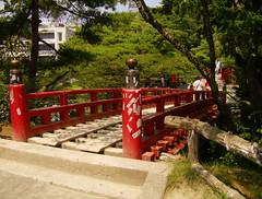 Red Bridge (globalpig) Tags: japan outdoors matsushima