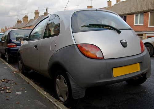 Out With The Old  Ford Ka